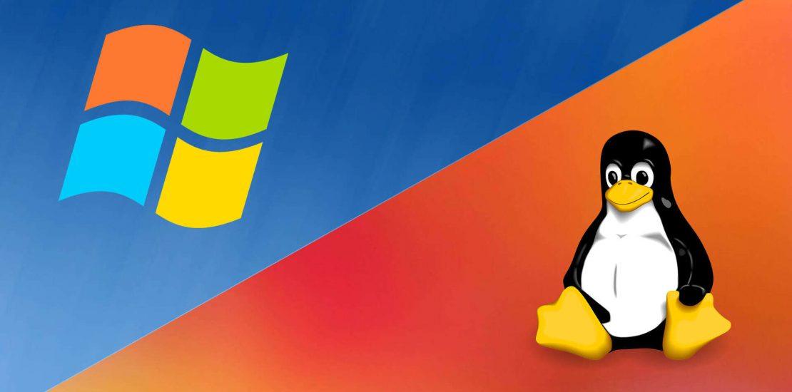 مشابه ویندوز و لینوکس روی سرور