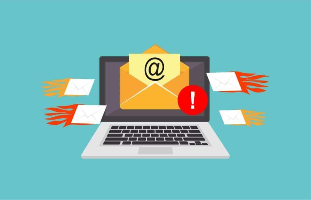 آموزش جلوگیری از دریافت ایمیل اسپم